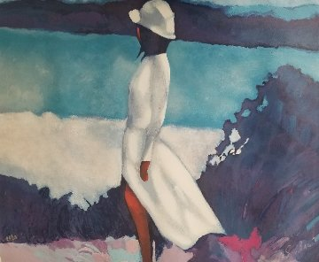 White Dress Limited Edition Print - Nicola Simbari