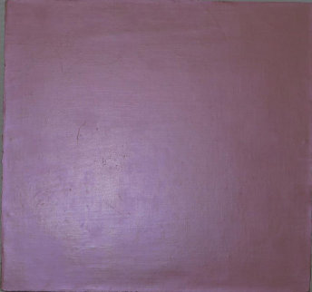 Interference Violet 1990 12x12 Original Painting - David Simpson