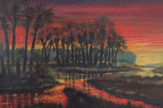 Low Country Drama 2004 36x48