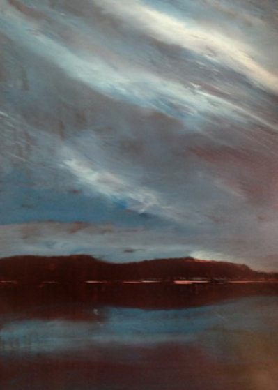 Night Shimmers 48x36