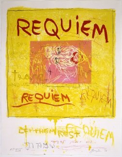 Requiem (Let Them Rest) 1998 Limited Edition Print - Joan Snyder