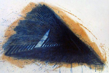 Blue Encounterings 1992 Limited Edition Print - Robert Stackhouse