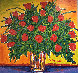 Bouquet of Red Roses 2008 42x40 Original Painting by John Stango - 0