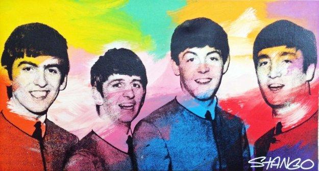 Beatles Unique 24x44 By John Stango