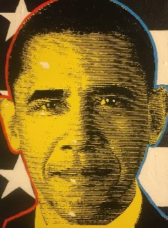President Obama 2012 Limited Edition Print - John Stango