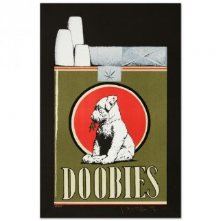 Doobies Limited Edition Print - Stanley Mouse