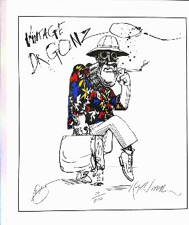Vintage Dr Gonzo 1995 Limited Edition Print - Ralph Steadman