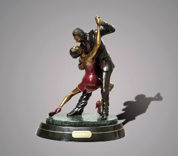 Tango Dancers Bronze Scupture 2015 18 in  Sculpture - Barry Stein