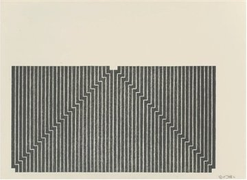 Aluminum Series - Union Pacific 1970 Limited Edition Print - Frank Stella