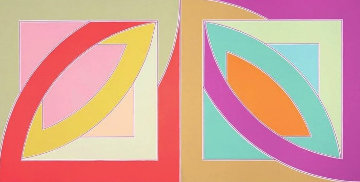 Newfoundland Series: Bonne Bay 1971 Limited Edition Print - Frank Stella