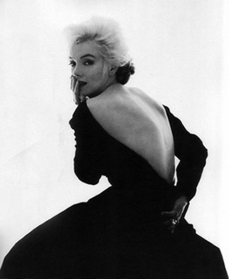 Marilyn in Famous Dior Dress by Bert Stern