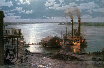 Natchez 1981 Limited Edition Print - John Stobart
