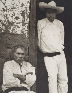 Men of Santa Ana - Photogravure, From the 1967 Edition Photography - Paul Strand