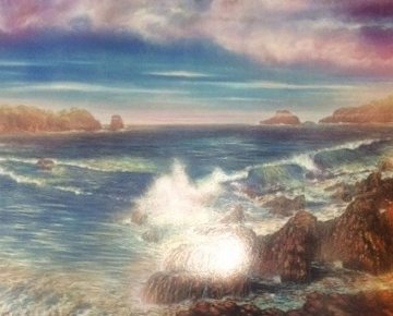 Surreal Sea 1988 Limited Edition Print - Brett Livingstone Strong