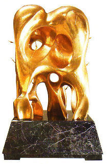 Formation of Life Copper Sculpture 1991 72 in Life Size  Sculpture - Brett Livingstone Strong