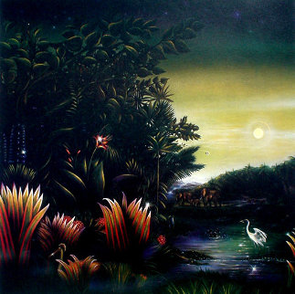 Homage a Henri Rousseau: Tango in the Night 1987 Limited Edition Print - Brett Livingstone Strong