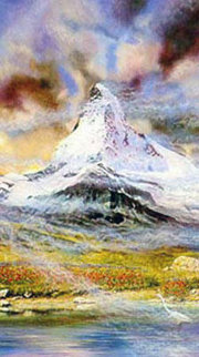 Matterhorn 1993 Limited Edition Print - Brett Livingstone Strong