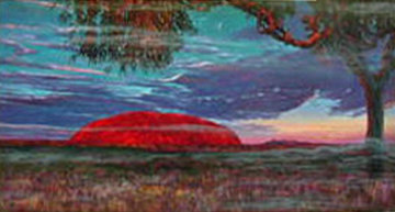 Ayers Rock Australia AP 1994 Limited Edition Print - Brett Livingstone Strong