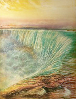 Niagara Falls 1992 Limited Edition Print - Brett Livingstone Strong