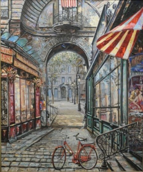 Purchase request for passage place de furstenburg 1999 46x40 for Places that buy art