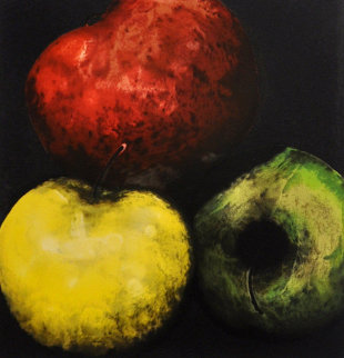 Apples (From Fruits And Flowers) 1989 Limited Edition Print - Donald Sultan