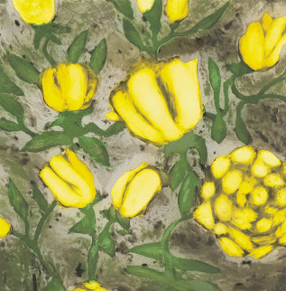 Yellow Roses 1992 Limited Edition Print - Donald Sultan