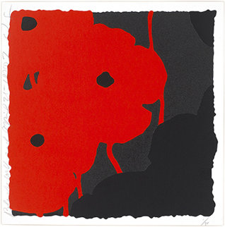 Black and Red, April 25, 2007 Limited Edition Print - Donald Sultan