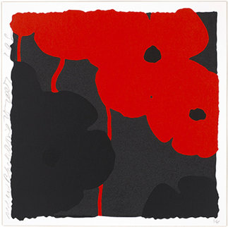 Red and Black, April 25, 2007 Limited Edition Print - Donald Sultan