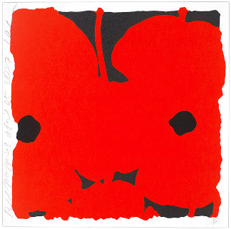 Red Poppies, April 25, 2007 Limited Edition Print - Donald Sultan