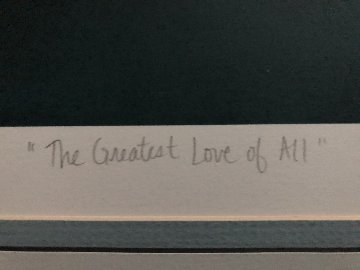 Greatest Love of All AP 1987 Limited Edition Print - George Sumner