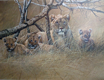 Official World Wildlife Portfolio Of Big Game Art Limited Edition Print - Gary Swanson