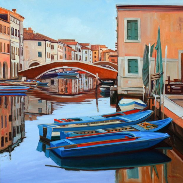 Canale Vena Reflections 2011 36x36