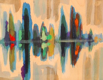 Canoe Lake Series (Set of 5) Original Painting - Kurt Swinghammer