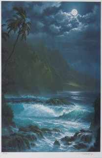 Moonlight Rhapsody Hawaii 1993 Limited Edition Print - Roy Tabora
