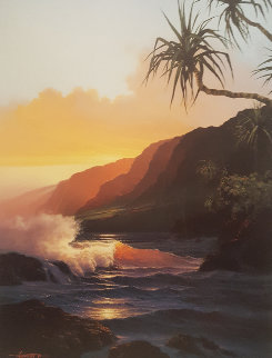 Last Rays of Summer AP 1986 Limited Edition Print - Roy Tabora