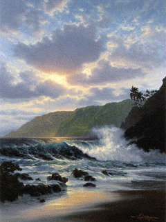 Island Rapture With Remarque Hawaii Limited Edition Print - Roy Tabora