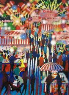 Opening Night At The Carnival AP Limited Edition Print - James Talmadge