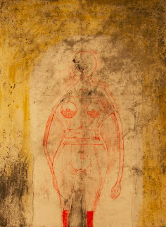 Femme En Rouge 1969  Limited Edition Print - Rufino Tamayo