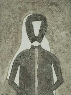 Hombre in Gris 1976 Limited Edition Print - Rufino Tamayo