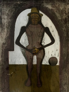 Woman Under an Arch 1969 Limited Edition Print - Rufino Tamayo