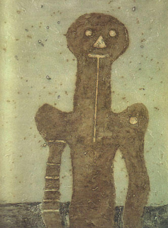 Torso (Olive Background) 1975
