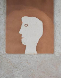 Brown Man Limited Edition Print - Rufino Tamayo
