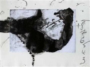 Komposition (From Un Vase De Terre) 1988 Limited Edition Print - Antoni Tapies
