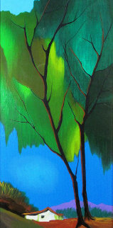 Foliage in Spring Embellished 2003 Limited Edition Print - Itzchak Tarkay