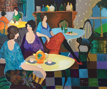 Afternoon Tea Limited Edition Print - Itzchak Tarkay