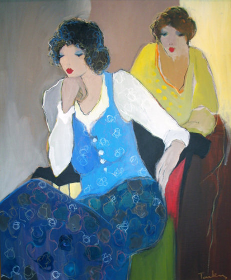 Women in Blue 44x36
