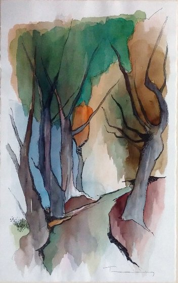 Autumn Watercolor 22x14