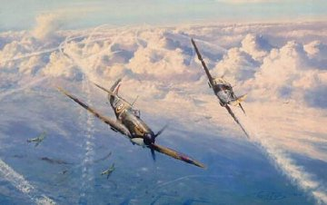 Combat Over London Limited Edition Print - Robert Taylor