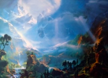 And the Light Shall Guide You Home 1990 Limited Edition Print - Dale Terbush
