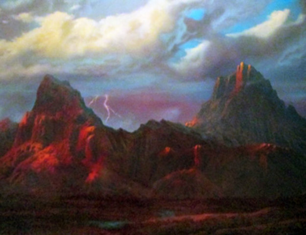 Anger in the Kofa Mountains 40x55